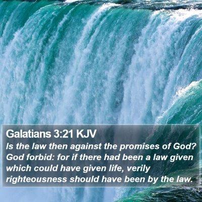 Galatians 3:21 KJV Bible Verse Image