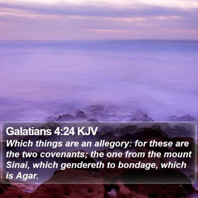 Galatians 4:24 KJV Bible Verse Image