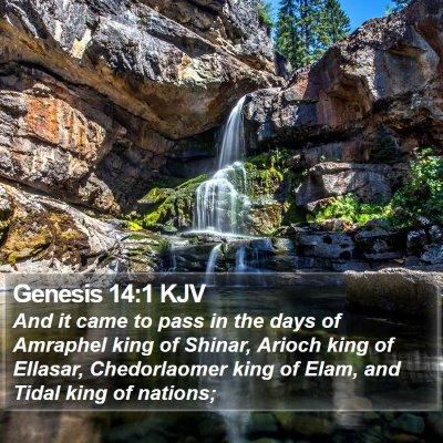 Genesis 14:1 KJV Bible Verse Image