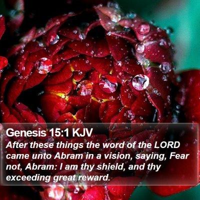 Genesis 15:1 KJV Bible Verse Image