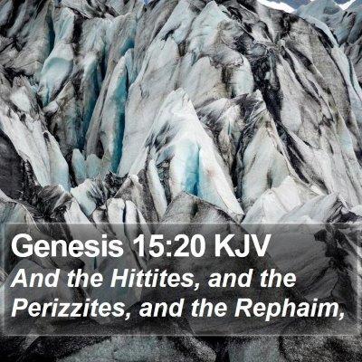 Genesis 15:20 KJV Bible Verse Image