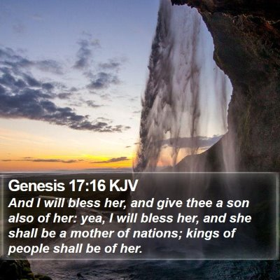 Genesis 17:16 KJV Bible Verse Image