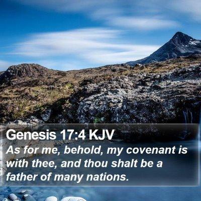 Genesis 17:4 KJV Bible Verse Image