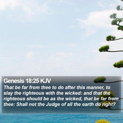 Genesis 18:25 KJV Bible Verse Image