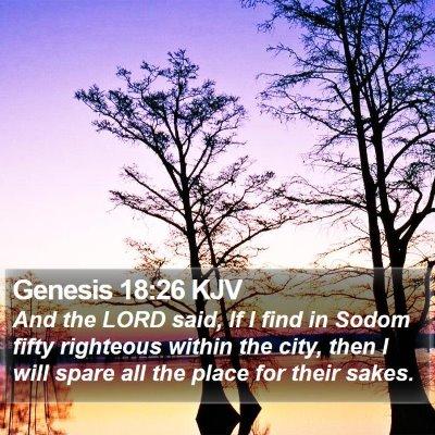 Genesis 18:26 KJV Bible Verse Image