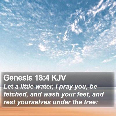 Genesis 18:4 KJV Bible Verse Image