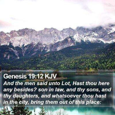 Genesis 19:12 KJV Bible Verse Image