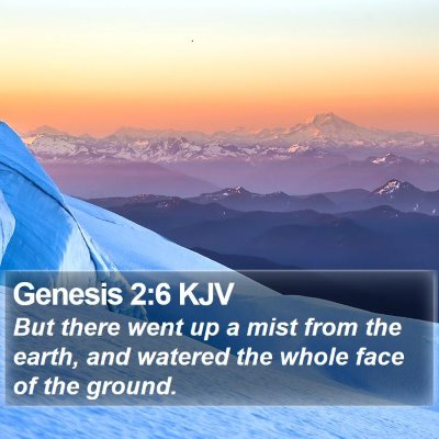 Genesis 2:6 KJV Bible Verse Image