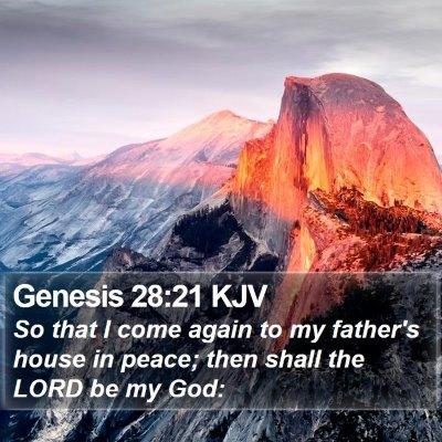 Genesis 28:21 KJV Bible Verse Image