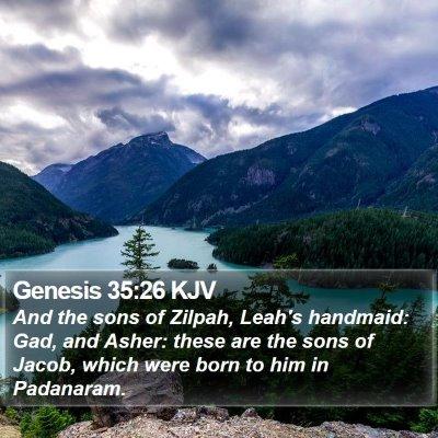 Genesis 35:26 KJV Bible Verse Image