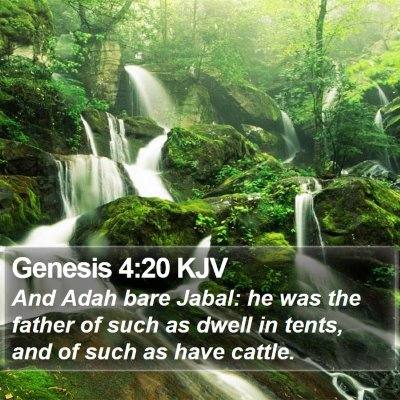 Genesis 4:20 KJV Bible Verse Image