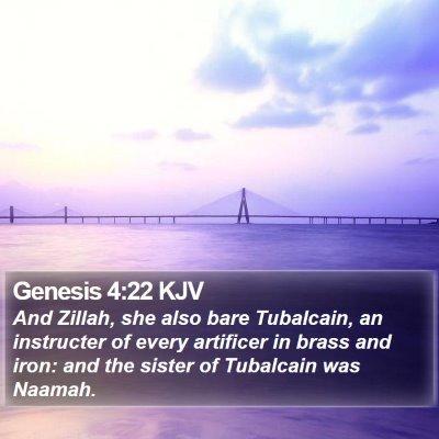 Genesis 4:22 KJV Bible Verse Image