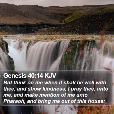 Genesis 40:14 KJV Bible Verse Image