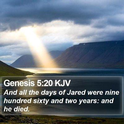 Genesis 5:20 KJV Bible Verse Image