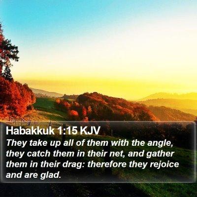 Habakkuk 1:15 KJV Bible Verse Image