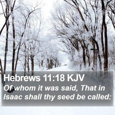 Hebrews 11:18 KJV Bible Verse Image