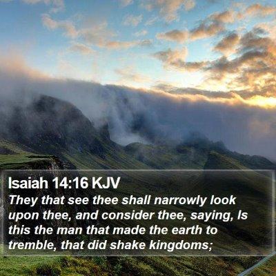 Isaiah 14:16 KJV Bible Verse Image