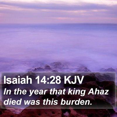 Isaiah 14:28 KJV Bible Verse Image