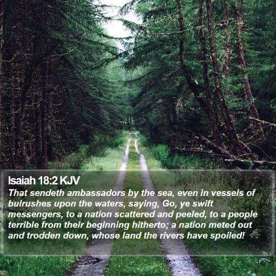 Isaiah 18:2 KJV Bible Verse Image