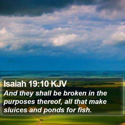 Isaiah 19:10 KJV Bible Verse Image