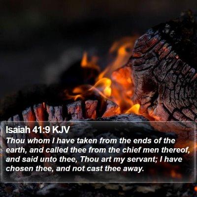 Isaiah 41:9 KJV Bible Verse Image