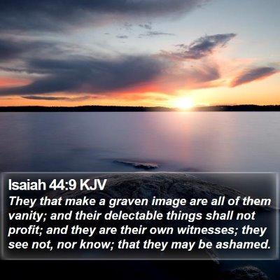Isaiah 44:9 KJV Bible Verse Image