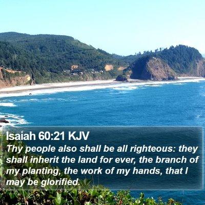 Isaiah 60:21 KJV Bible Verse Image