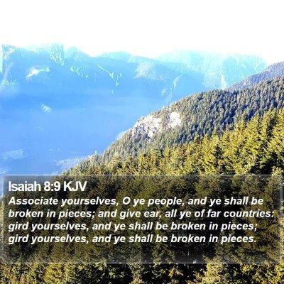 Isaiah 8:9 KJV Bible Verse Image