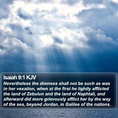 Isaiah 9:1 KJV Bible Verse Image