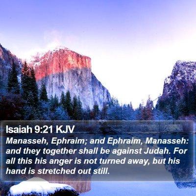 Isaiah 9:21 KJV Bible Verse Image