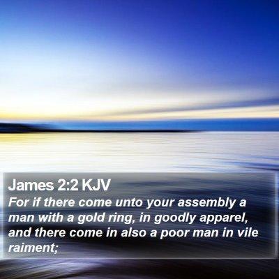 James 2:2 KJV Bible Verse Image