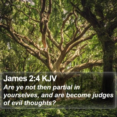 James 2:4 KJV Bible Verse Image