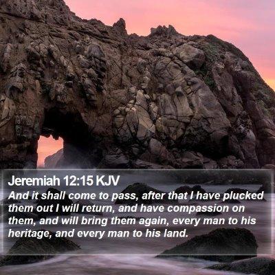 Jeremiah 12:15 KJV Bible Verse Image