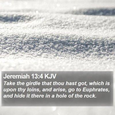 Jeremiah 13:4 KJV Bible Verse Image