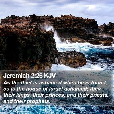Jeremiah 2:26 KJV Bible Verse Image