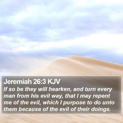Jeremiah 26:3 KJV Bible Verse Image