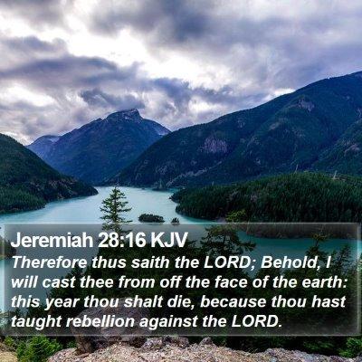 Jeremiah 28:16 KJV Bible Verse Image