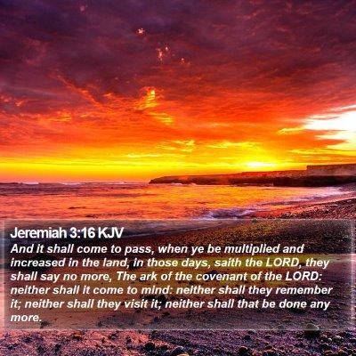 Jeremiah 3:16 KJV Bible Verse Image