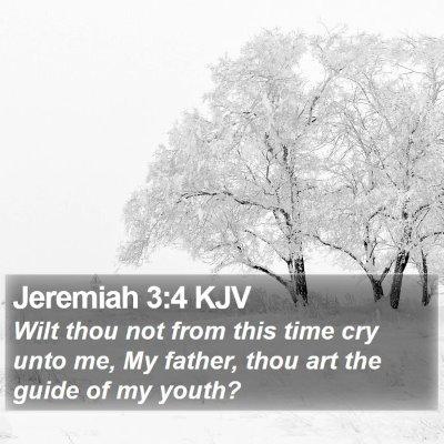 Jeremiah 3:4 KJV Bible Verse Image