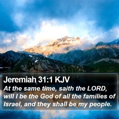 Jeremiah 31:1 KJV Bible Verse Image