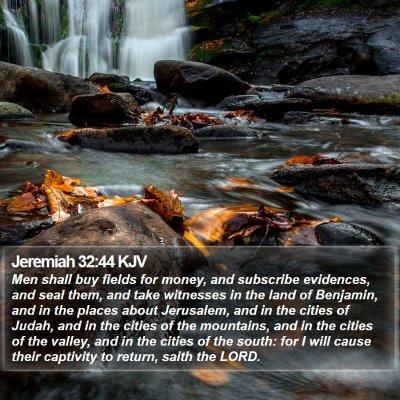 Jeremiah 32:44 KJV Bible Verse Image