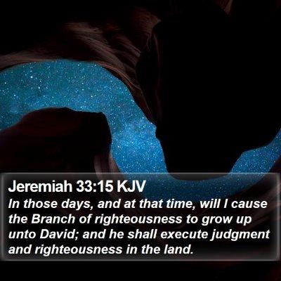 Jeremiah 33:15 KJV Bible Verse Image