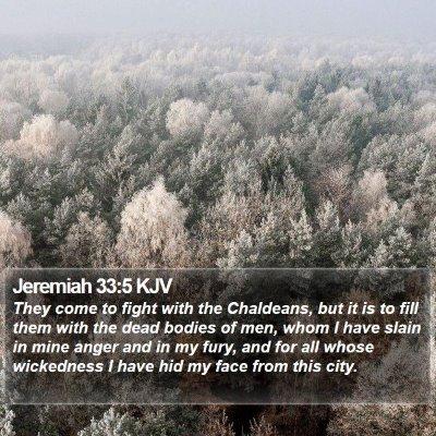 Jeremiah 33:5 KJV Bible Verse Image