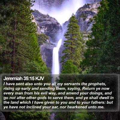 Jeremiah 35:15 KJV Bible Verse Image