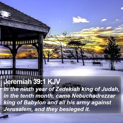 Jeremiah 39:1 KJV Bible Verse Image