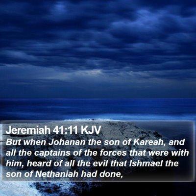 Jeremiah 41:11 KJV Bible Verse Image