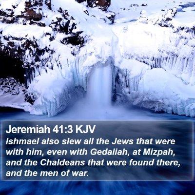 Jeremiah 41:3 KJV Bible Verse Image