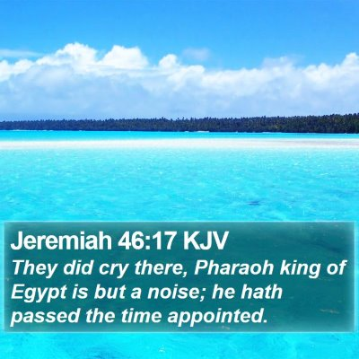 Jeremiah 46:17 KJV Bible Verse Image