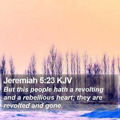 Jeremiah 5:23 KJV Bible Verse Image