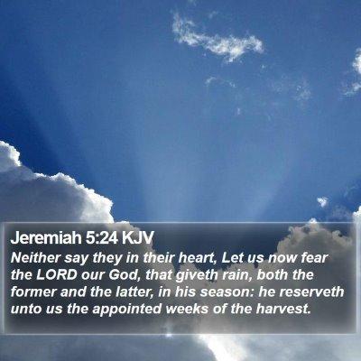 Jeremiah 5:24 KJV Bible Verse Image